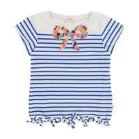 Bow T-Shirt Blue