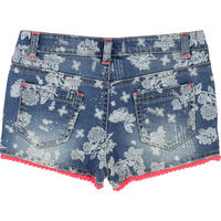 Printed Shorts Blue