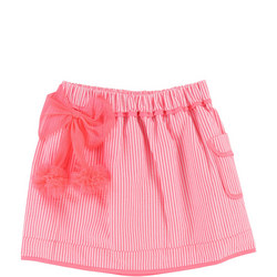 Striped Skirt Pink