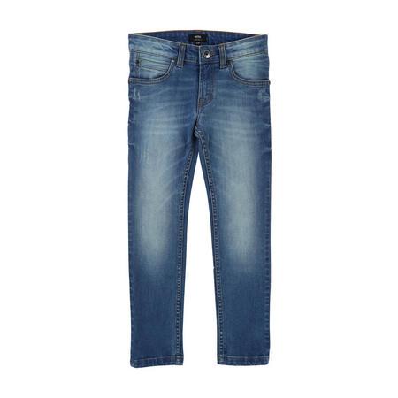 Five Pocket Jeans Blue