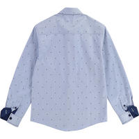Spotted Shirt Blue