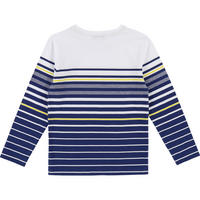 Striped Long Sleeve T-Shirt Navy