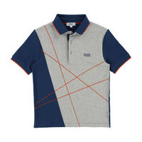 Lines Polo Shirt Navy