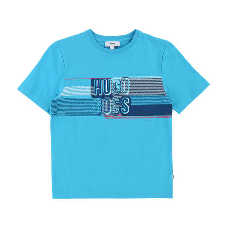 Graphic Logo T-Shirt Turquoise Bue
