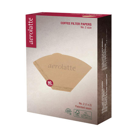 Aerolatte No2 Size Coffee Filter Papers
