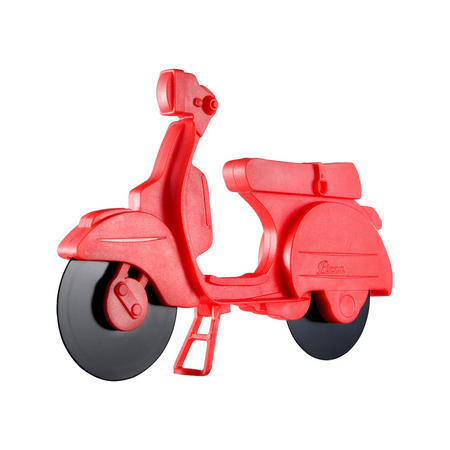 Pizza Scooter Cutter Red
