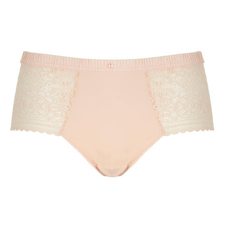 Mandala Lace Shorty Briefs Pink