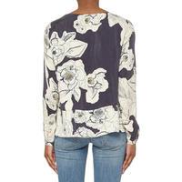 Floral Print Long Sleeve Blouse Multicolour