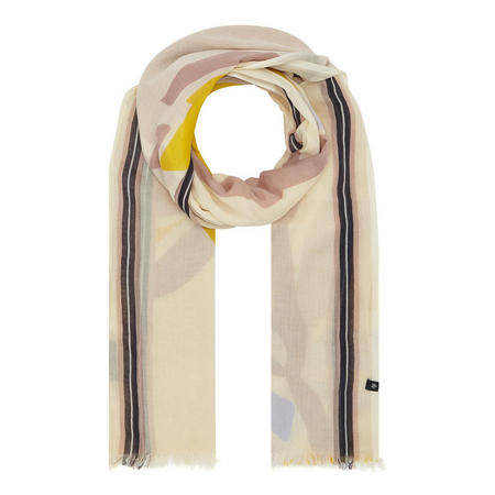 Patterned Scarf Cream