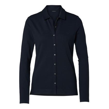 Basic Slim Fit Shirt Navy