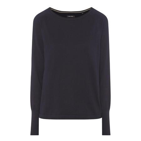 Round Neck Sweater Navy