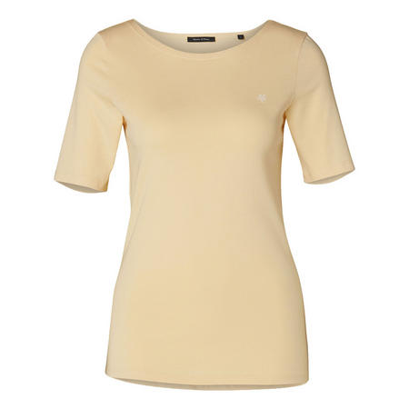 Half Sleeve T-Shirt Cream