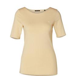 Half Sleeve T-Shirt Cream
