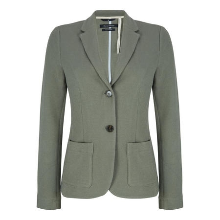 Slim Fit Blazer Green