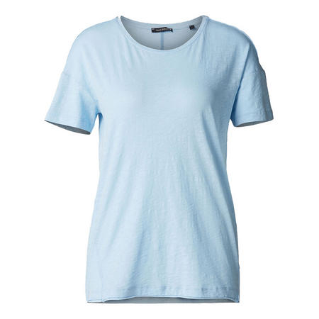 Basic Short Sleeve T-Shirt Blue