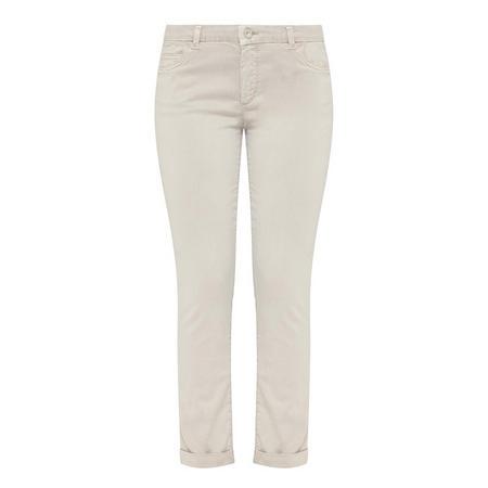 Slim Fit Trousers Grey