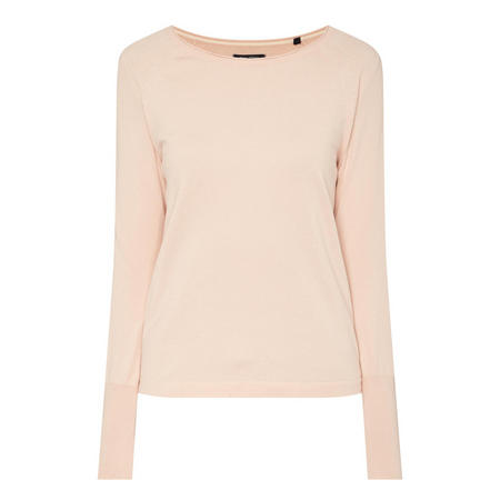 Round Neck Sweater Pink