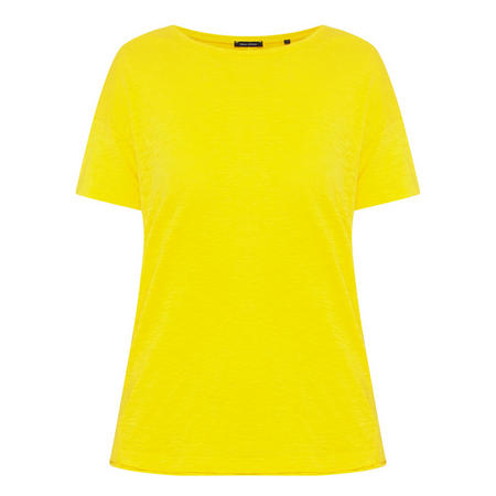 Basic Short Sleeve T-Shirt Yellow