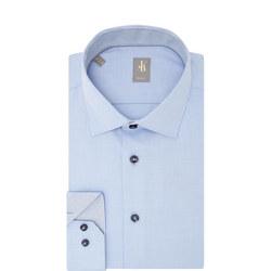 Slim Fit Twill Shirt Blue
