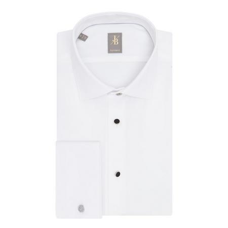 Custom Fit Evening Shirt White