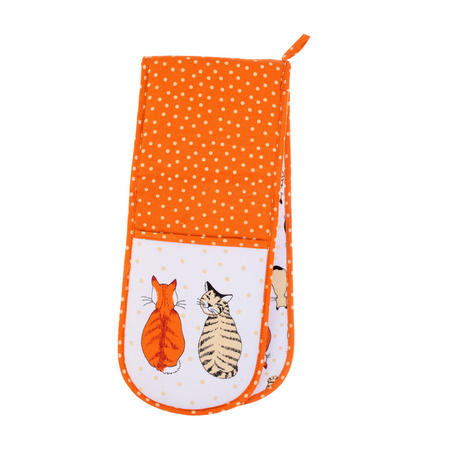 Cats In Waiting Double Glove White
