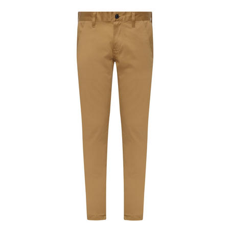 Bronson Slim Fit Chinos Brown
