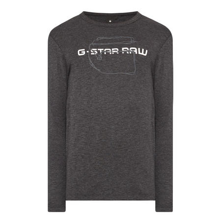 Long Sleeve Logo T-Shirt Grey