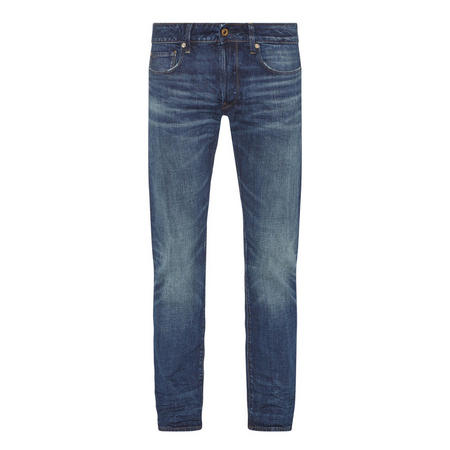 3301 Straight Fit Jeans Blue