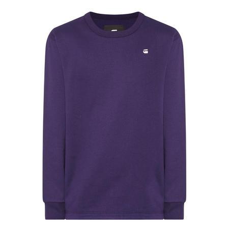 Core Crew Neck Sweatshirt Purple