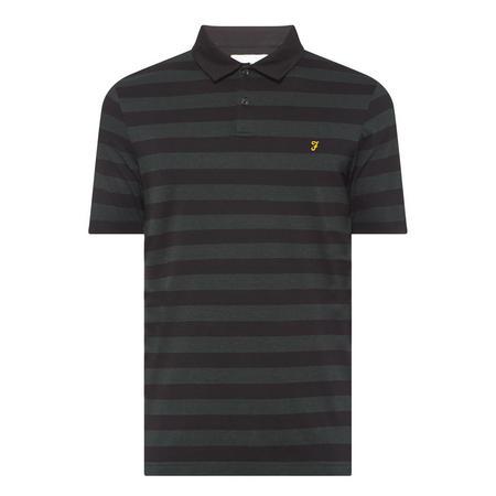 Stripe Logo Polo Shirt Multicolour