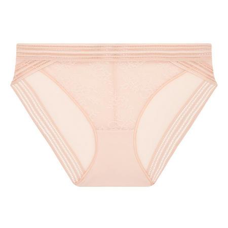 Miss Lejaby Lace Briefs Pink