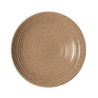Studio Craft Elm Medium Ridged Bowl Brown