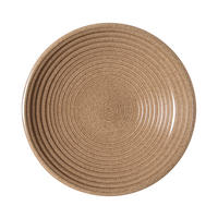 Studio Craft Elm Large Ridged Bowl Brown