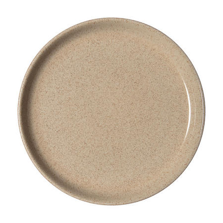 Studio Craft Birch Medium Coupe Plate Brown