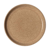 Studio Craft Elm Medium Coupe Plate Brown