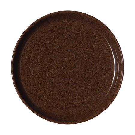 Studio Craft Walnut Medium Coupe Plate Brown