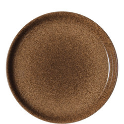 Studio Craft Chestnut Coupe Dinner Plate Brown