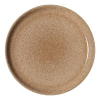 Studio Craft Elm Coupe Dinner Plate Brown