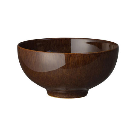 Studio Craft Walnut Rice Bowl Brown