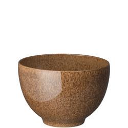 Studio Craft Chestnut Deep Noodle Bowl Brown