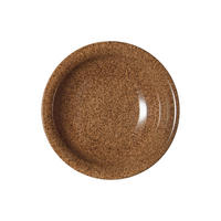 Studio Craft Chestnut Small Shallow Bowl Brown