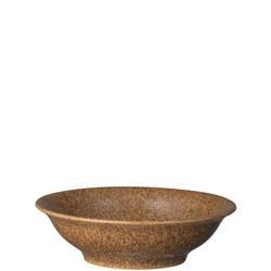 Studio Craft Chestnut Small Shallow Bowl Brown