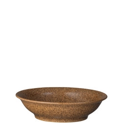 Studio Craft Chestnut Medium Shallow Bowl Brown
