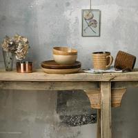 Studio Craft 2 Piece Alt Ridged Mug Set Brown