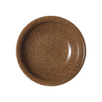 Studio Craft Chestnut Large Shallow Bowl Brown