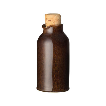 Studio Craft Walnut Oil Bottle Brown