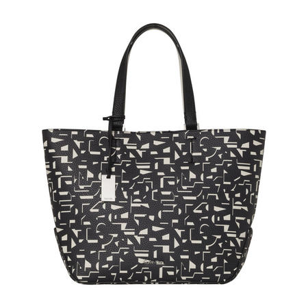Geometric Print Medium Tote Bag Multicolour
