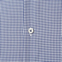 Custom Fit Check Shirt Navy
