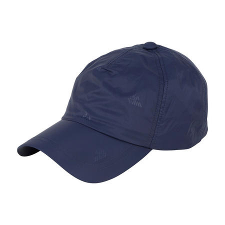 Eagle Print Baseball Cap Navy