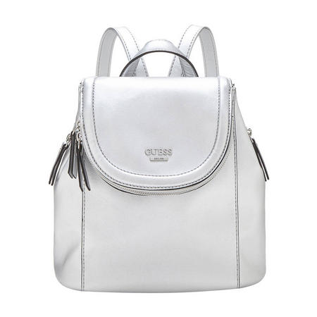 Terra Metallic Backpack Silver-Tone